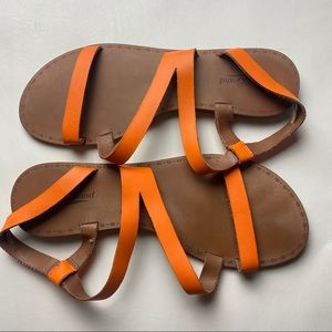 Lucky Brand Leather Strappy Sandals